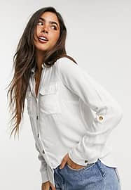 Blouse in wit