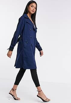Duty - Trenchcoat in blauw