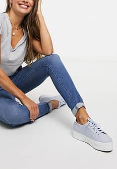 - Mile High - Superskinny jeans-Blauw
