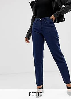 Missguided Mom jeans in blauw