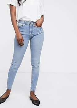 Extra smalle jeans-Blauw
