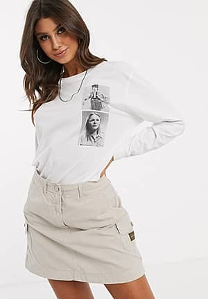 Khakis capsule - T-shirt met over